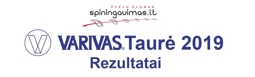VARIVAS Taurė 2019 - Rezultatai